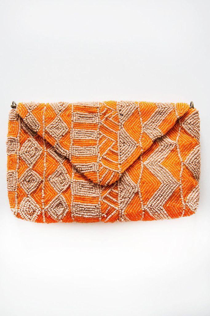 beck sondergaard summer bag orange – Lost & Found