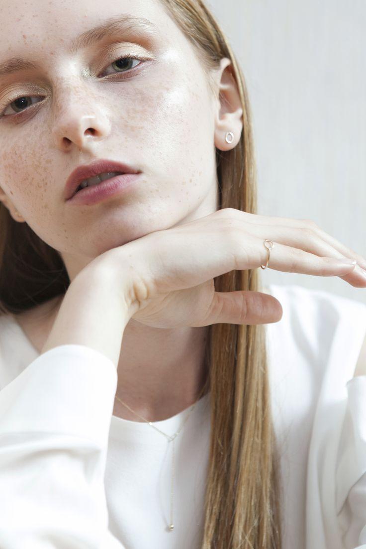 collection - cloeseness - Anna Lawska Jewellery / model - Marysia Model Plus / photo - Katarzyna Tur