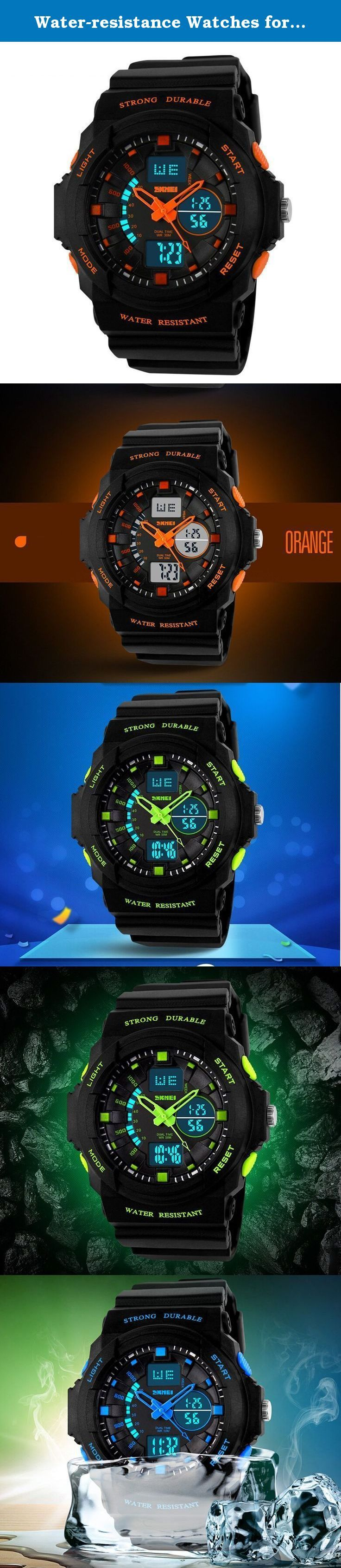 Water-resistance Watches for Children Casual Kids Students Boys Girls Outdoor Sports Watch -. A variety of styles you can choose in our store ! Package Included: 1 x Watch Please Note: 1. Actual color may vary from picture due to computer settings. 2. Find store front of Sunny world, more surprises are waiting for you! Dear Buyer, Thanks for your continuous support to our store, and we are always striving to improve ourselves in terms of service, quality, sourcing, etc. It would be highly...