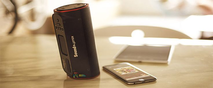 Creative Sound Blaster Portable Speaker review specs and more...