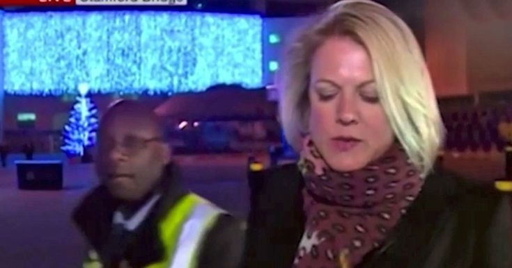 Live BBC News report on Chelsea FC child sex abuse scandal is interrupted by club security guard #report #chelsea #child #abuse #scandal…