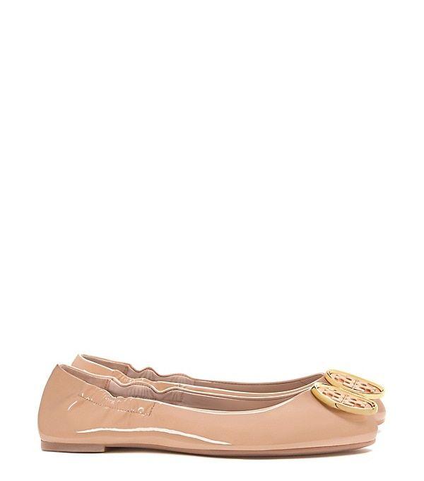 Tory Burch Twiggie Ballet Flat in Light Oak size 11