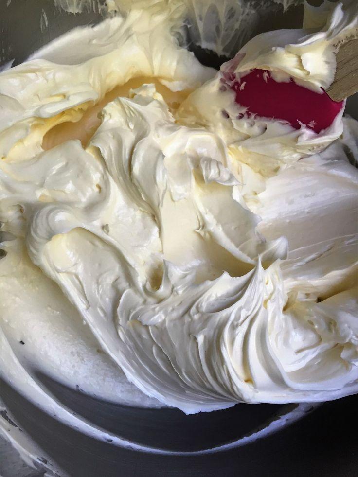 Συνταγή για Υπέροχη Βελούδινη Κρέμα για Γέμιση & Επικαλυψη- Recipe for a Tasty, Silky, Creamy Frosting