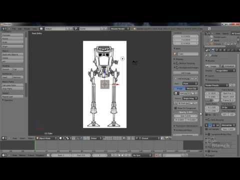 584 best blender 3d images on pinterest blender tutorial colocar blueprints en blender youtube malvernweather Image collections