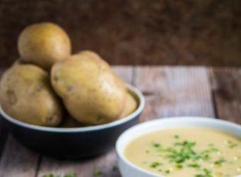 Σούπα με πατάτες και πράσα | Infokids.gr