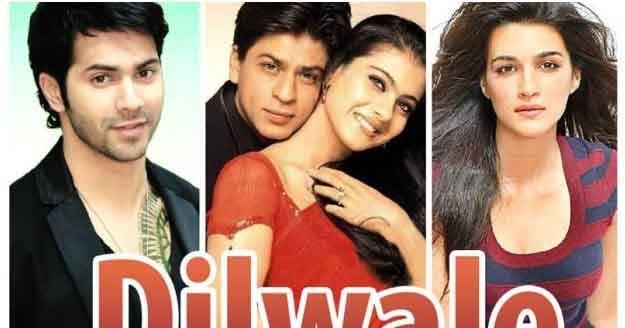 Dilwale 2015 Official Song Shah Rukh Khan Kajol Varun Dhawan Rohit Shetty Latest Movie Songs Kajol Dilwale Bollywood Movie Songs