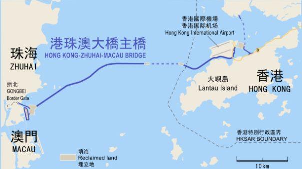 Conoce el puente marítimo más largo del mundo que unirá tres ciudades en China - RPP Noticias