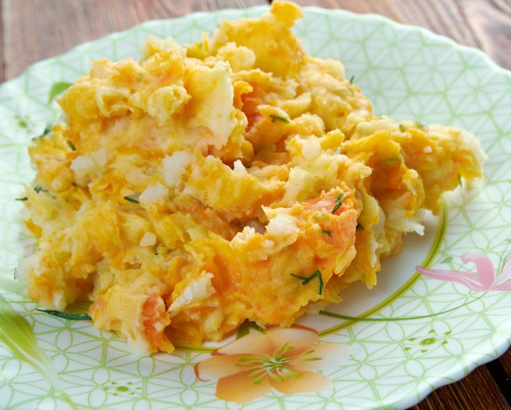 Suikervrije recepten: Zoete aardappel / pastinaak puree