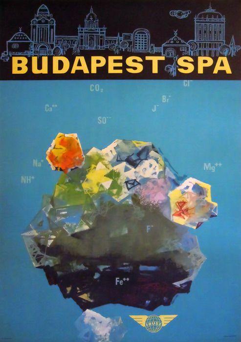 Budapest Spa - 1950's - (Szücspål) -