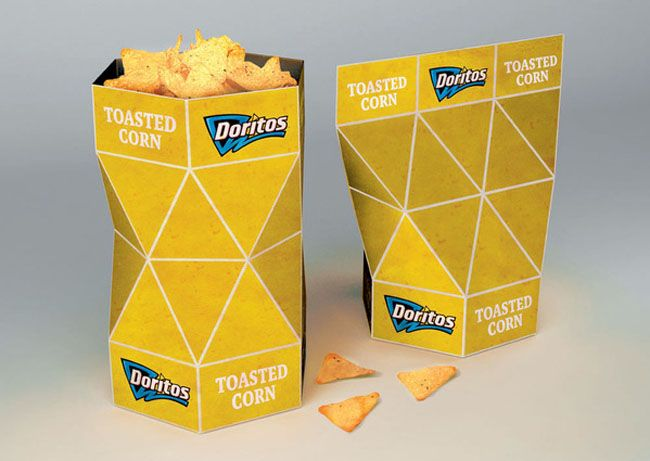 Doritos packaging.
