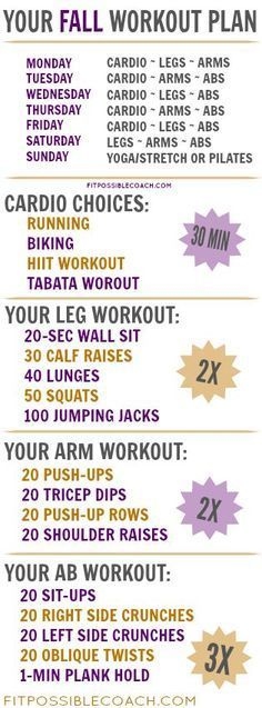 Best 25+ Weekly Workout Plans Ideas On Pinterest | Weekly Workout