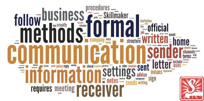 Information consist of where  formal communication methods fit into workplace communication. What are the different types of formal communication methods? Also where you can find more information about formal communication methods.