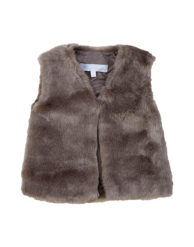 TARTINE ET CHOCOLAT Baby Girl Soft Grey Faux Fur Sleeveless Jacket. Shop now: http://www.tilltwelve.com/en/eur/product/1057211/TARTINE-ET-CHOCOLAT-Baby-Girl-Soft-Grey-Faux-Fur-Sleeveless-Jacket/