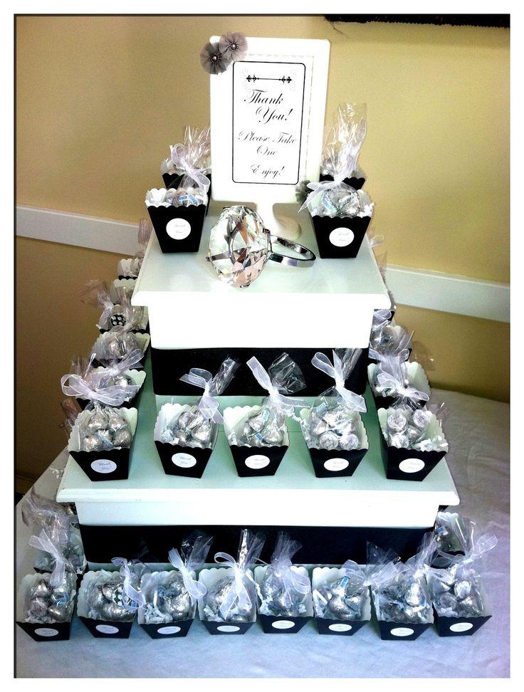 Best hershey kiss favor images on pinterest wedding