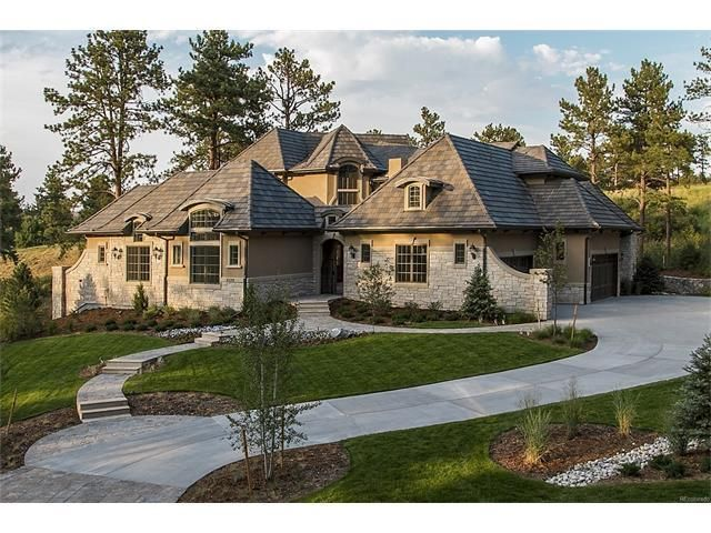 120 best luxury homes castle rock co images on pinterest for Castle rock house