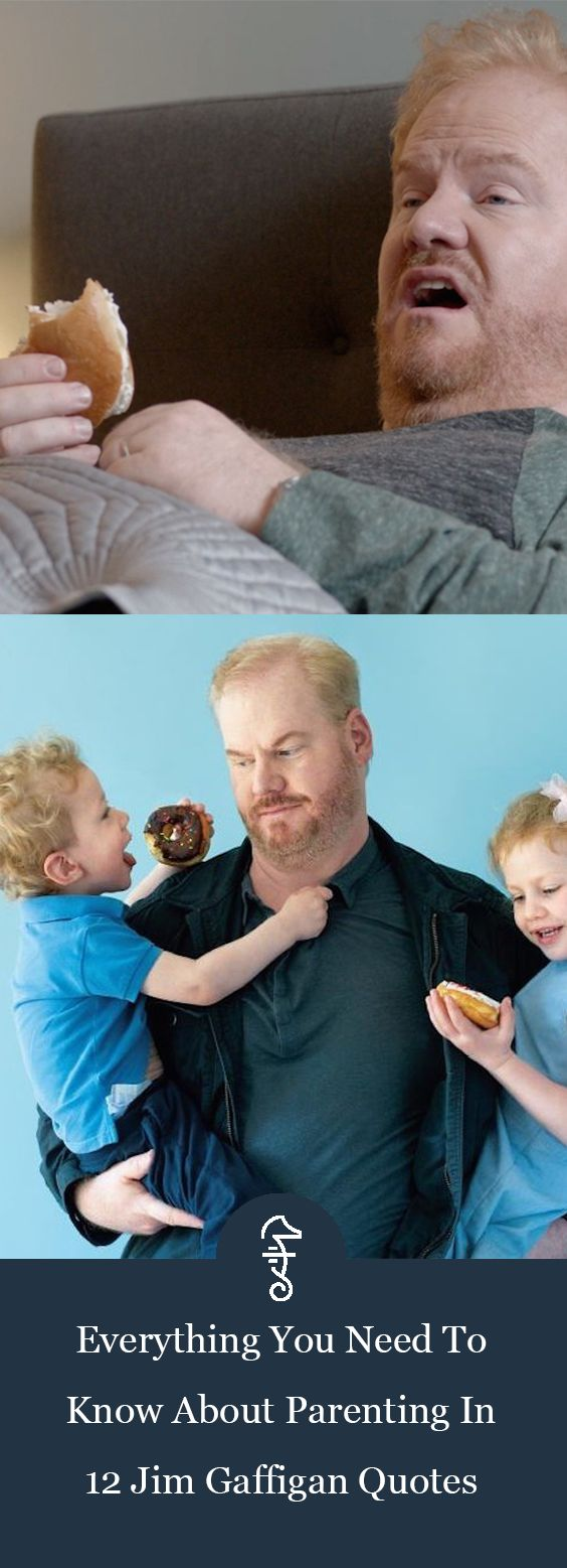 Everything You Need To Know About Parenting in 12 Jim Gaffigan Quotes via @FatherlyHQ