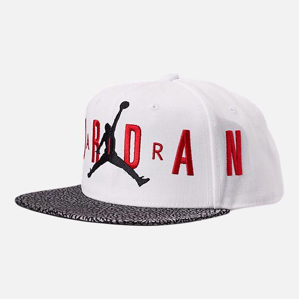 034b912bc60 Kids  Air Jordan Elephant Print Snapback Hat in 2019