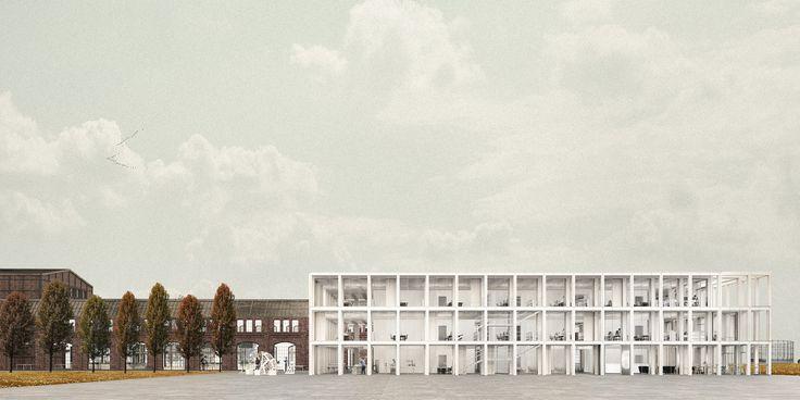 MODULAR OFFICE BUILDING - zablotnytomasz | portfolio