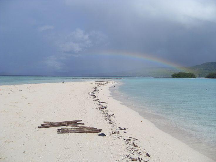 Hunimua Beach, Moluccas, Indonesia