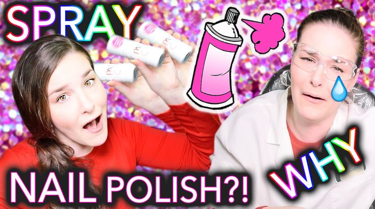 Spray Paint Nail Polish?! WHY just why lol oh my gosh she cracks me up! Have you ever been excited to try a product and it didn't quite turn out the way you hoped? - Dana #ghousejams