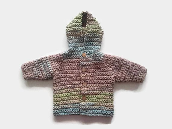 Perfect baby boy hooded coat jacket cardigan by CreationsbyNinaB
