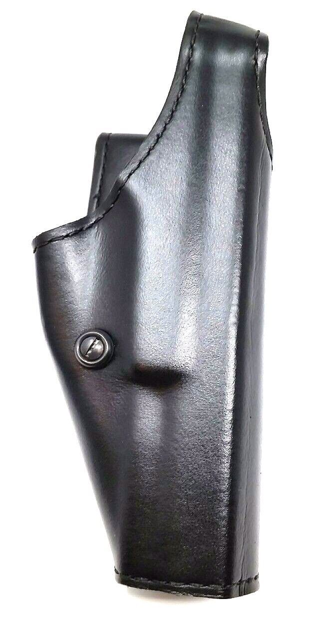 GOULD & GOODRICH OWB BLACK LEATHER RIGHT HOLSTER Duty Fits GLOCK 17 22 9mm 40