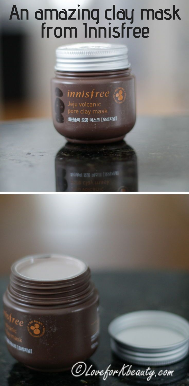 Innisfree Jeju volcanic pore clay mask: review