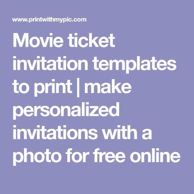 Best 25+ Movie ticket template ideas on Pinterest Ticket - free ticket maker