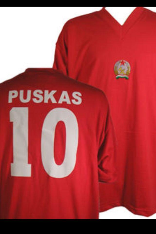 Camisa de Ferenc Puskas