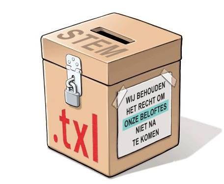 Stembus Texel #OokTexel