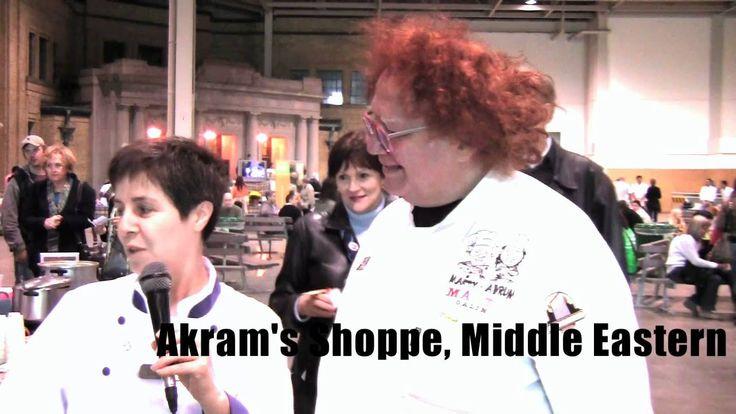 Mrs. Falafel from Akram's Shoppe in Kensington Market at Soupalicious in Toronto (2011) - http://www.akramshoppe.com