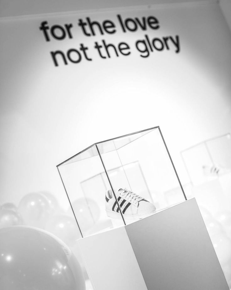 Love over glory!  adidas showroom - Teniskology 2015