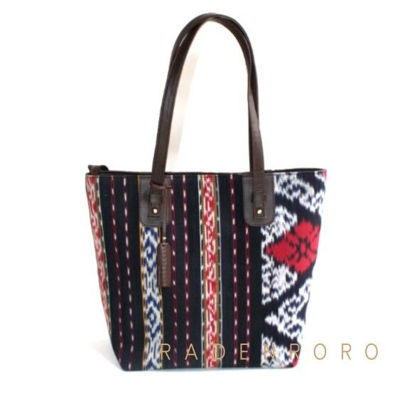 Tote bag with tenun by Radenroroofficial
