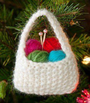 Yarnie Ornament | AllFreeKnitting.com