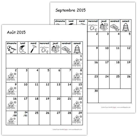Calendriers gratuits .doc  2015-2016 Amélie Pépin
