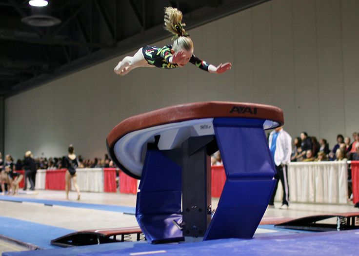 Drills and ideas for coaching handspring vaults
