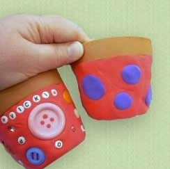 лепка из пластилина с детьми 1,5 - 2 лет