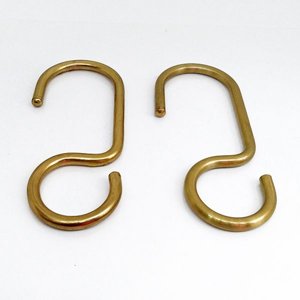 Curtain Rings Set Of 12 Solid Brass Drapery Rings 3 16 Thick