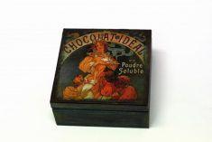 "Wooden box ""Chocolat Ideal""/ Drewniane pudełko"