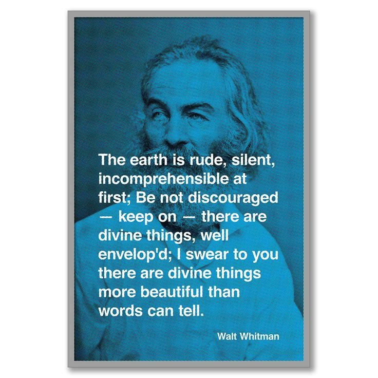 walt whitman - one of my favorite poets