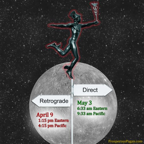 Mercury Retrograde                Time to batten down the hatches. Here is an article explaining what that Mercury Retrograde means and what you can expect. http://treeoflifestore.com/mercury_retrograde.html