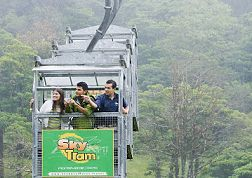 Sky Tram Aerial Tram Ride - Sky Adventures Monteverde (from post: Which Costa Rica Zipline Is The Best? Comparing 6 Popular Canopy Tours in Arenal and Monteverde)