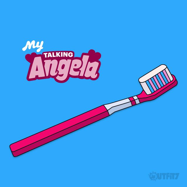 On this day, many many years ago, toothbrush was invented. Toothbrushing is fun, right my #LittleKitties? Check My Talking Angela app to see why ;-) xo, Talking Angela #TalkingAngela #MyTalkingAngela #LittleKitties #app #toothbrush #toothpaste #game #pink #bubbles