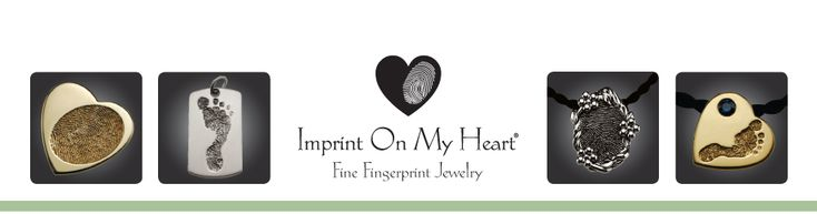 Not sure where to put this, it is a very sweet idea. Imprint On My Heart Fine Fingerprint Jewelry
