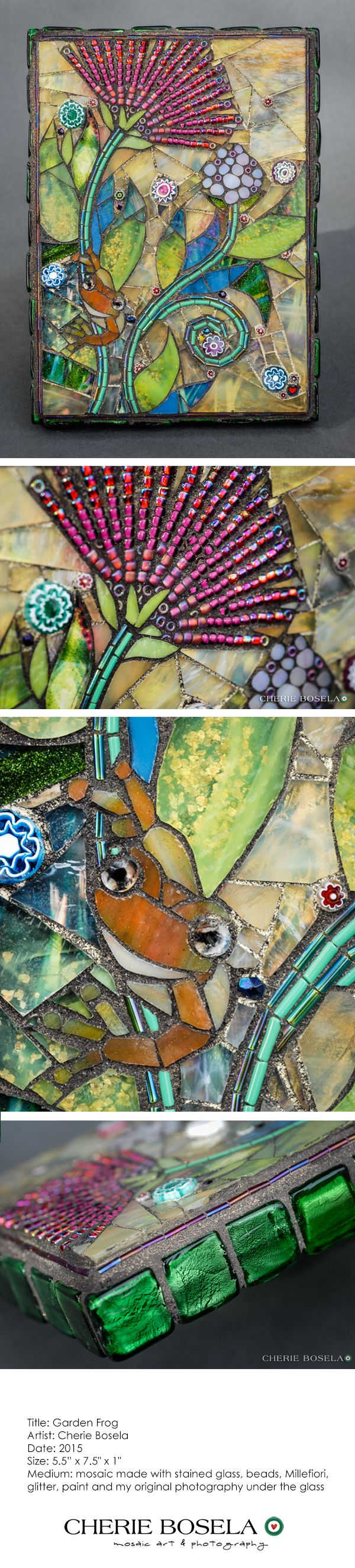 Mosaic art by Cherie Bosela                                                                                                                                                                                 More