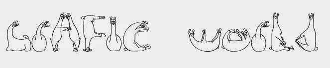 Creare una scritta con font di Lama