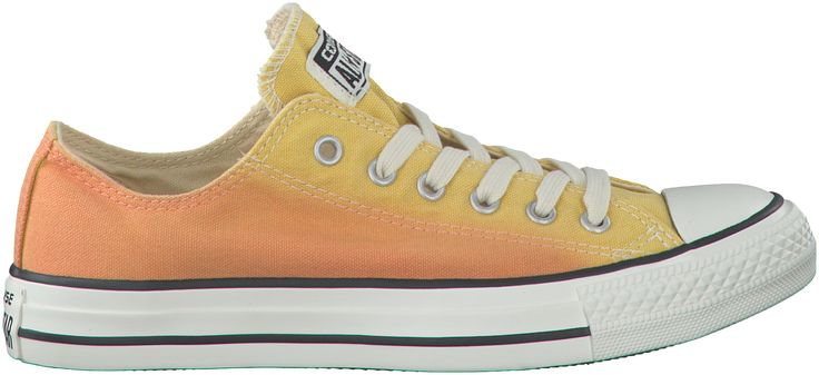 opvallende Gele Converse Sneakers AS OX DAMES