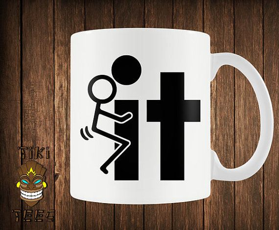 Funny Coffee Mug Offensive Custom Mugs Rude Stick Figure F**k It ★ About the Mugs ★ • Microwave and dish washer safe • Can be used for both hot &
