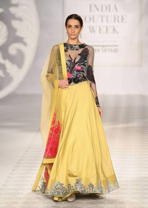 Varun Bhal's ,Indian Couture Week 2014 #anarkali