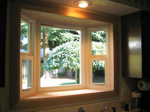 1000 ideas about kitchen bay windows on pinterest bay for Bay window interior